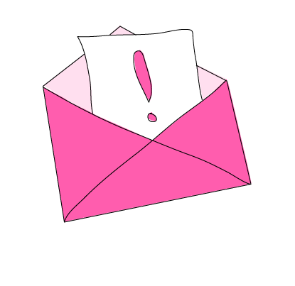 pink letter important zooma