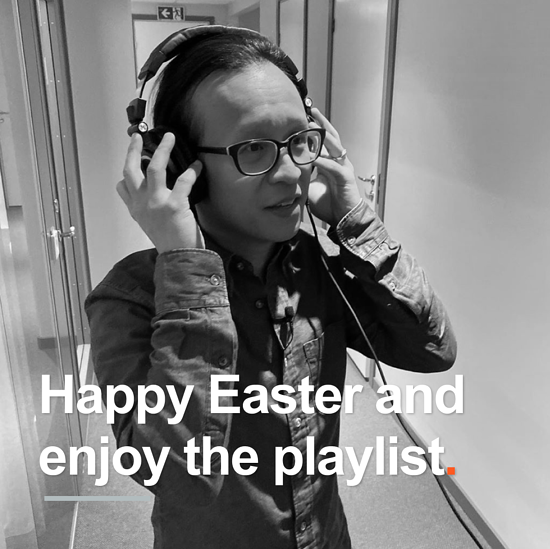 Zooma happy easter and playlist