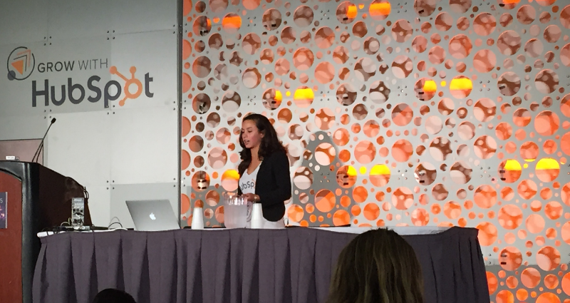 Angela DeFranco at INBOUND15
